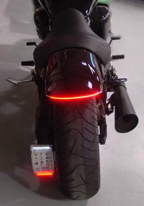 Custom flex taillight